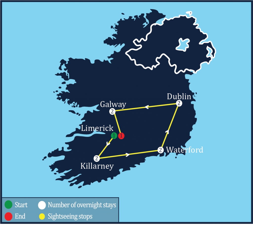 ireland-tour-2018-map